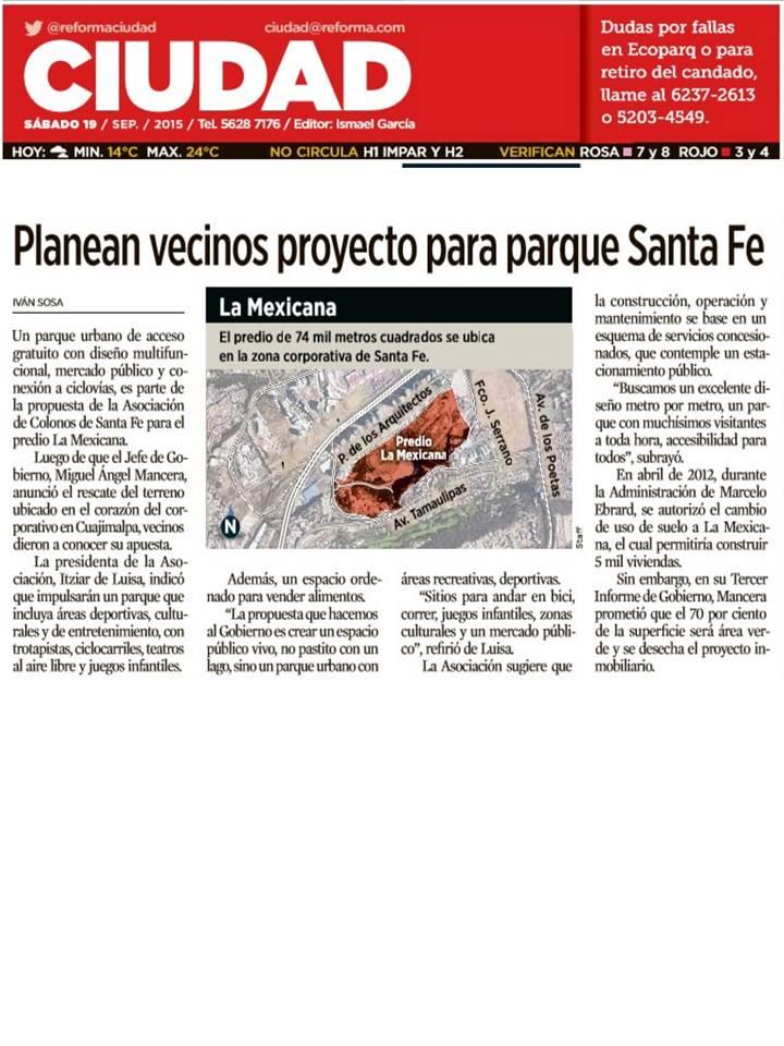 N3 Proyecto para parque en Santa Fe